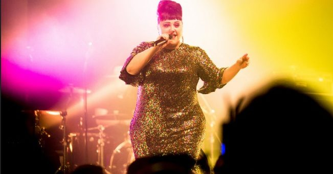 Beth Ditto live at L'Aéronef Lille 2017